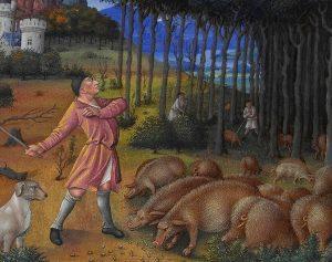 Forêt Moyen Age